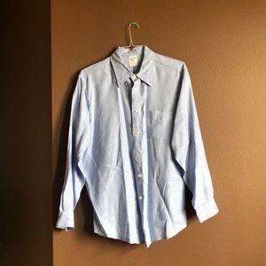 Brooks Brothers Button Down Dress Shirt XL
